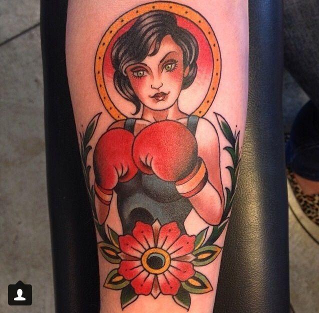Boxer tattoo