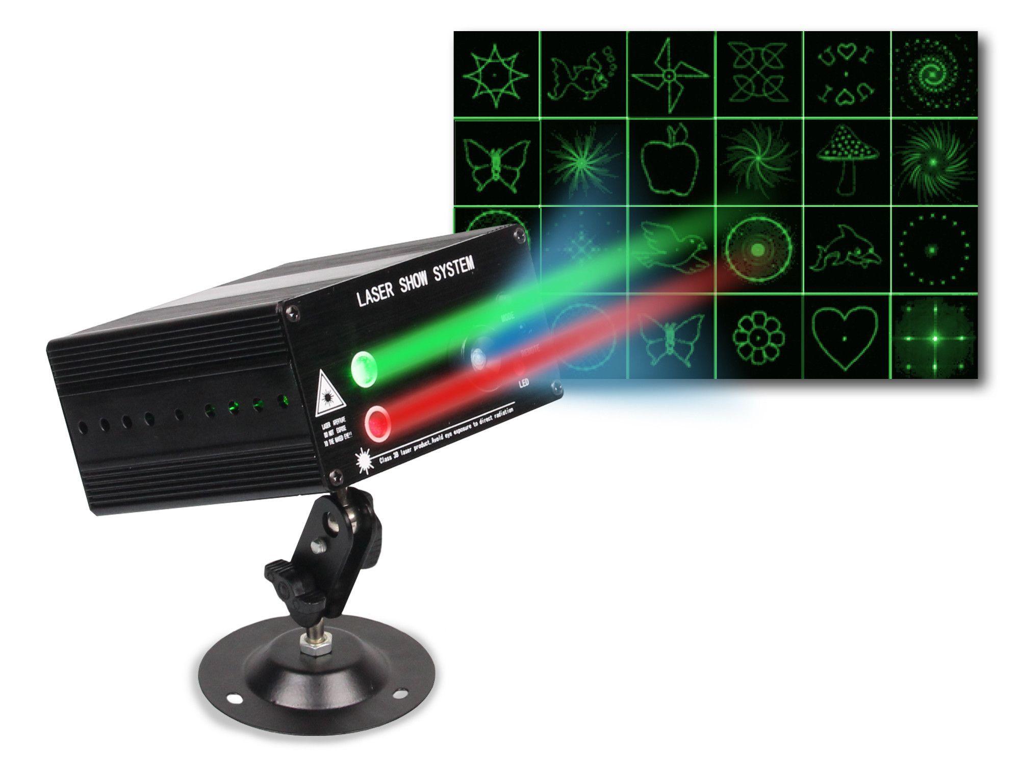 Pro DJ 48 Pattern Laser Custom design, Line design