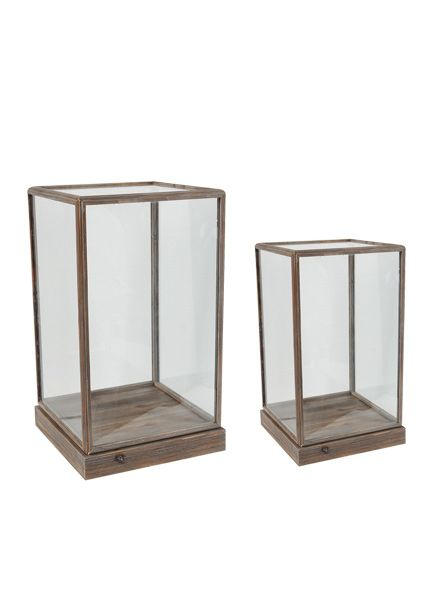 Decorative Display Boxes Gorgeous Glass & Wood Display Box  Products I Covet  Pinterest  Wood Review
