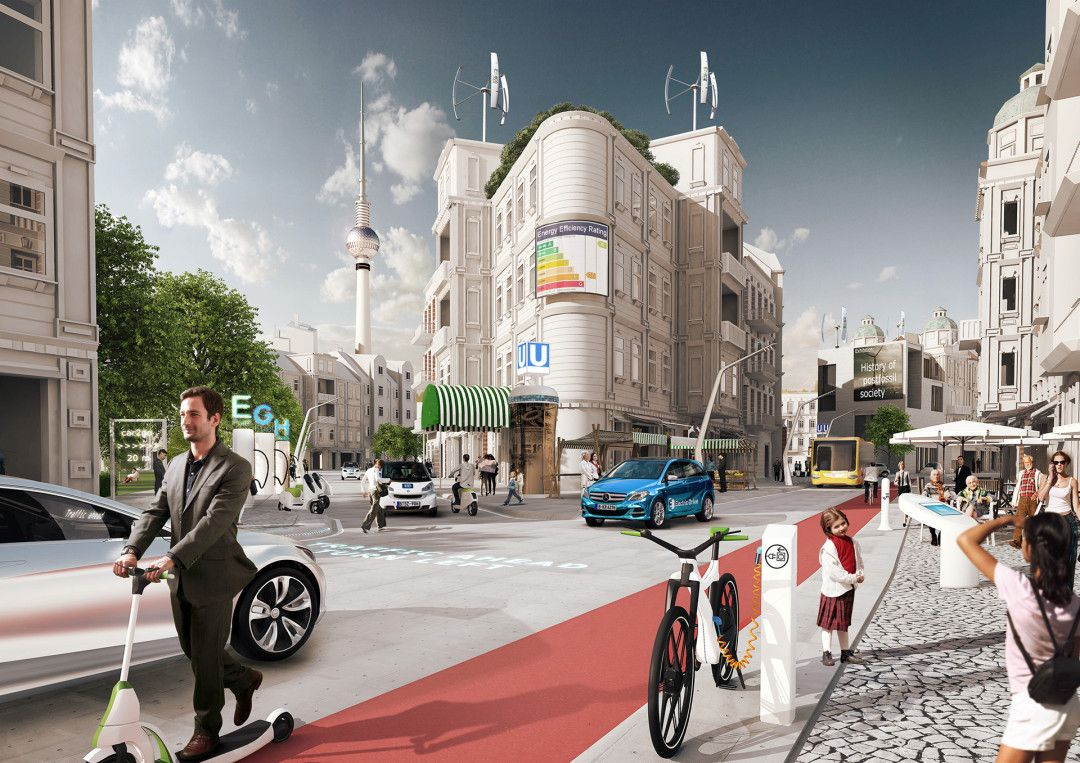 daimler future of mobility berlin Future city