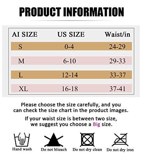 bdfb67f2c6322 AIMILIA Waist Trainer Trimmer Belt for Women Weight Loss Tummy Control  Shapewear Sauna Sweat Back Support