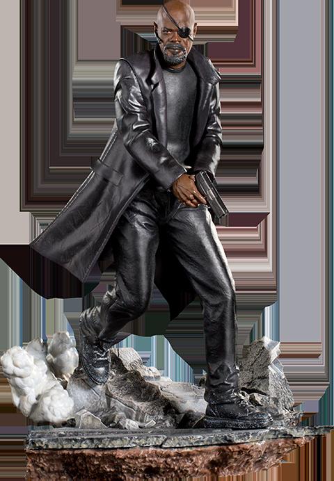 Iron Studios Nick Fury Statue Nick Fury Marvel Nick Fury Marvel Statues