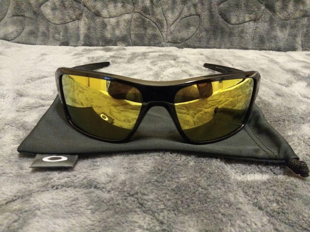 OAKLEY DOUBLE EDGE Sunglasses OO9380-0266 Polished Black 24k Iridium   fashion  clothing ed6d2c7171