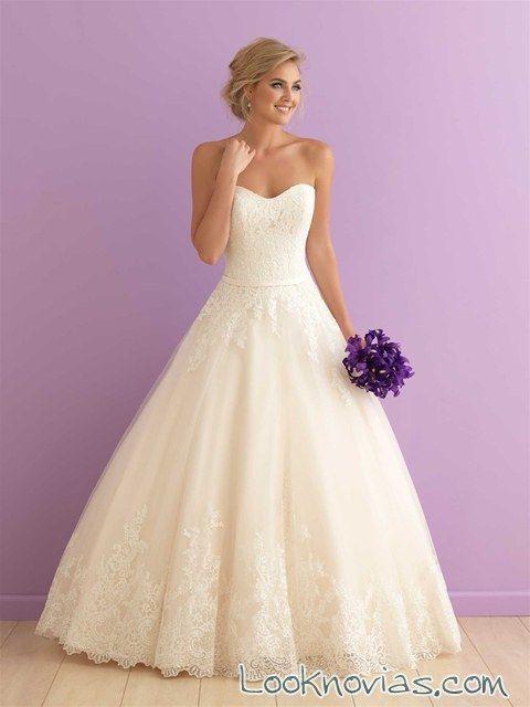 vestido blanco princesa elegante | vestidos de novia en 2019 | pinterest