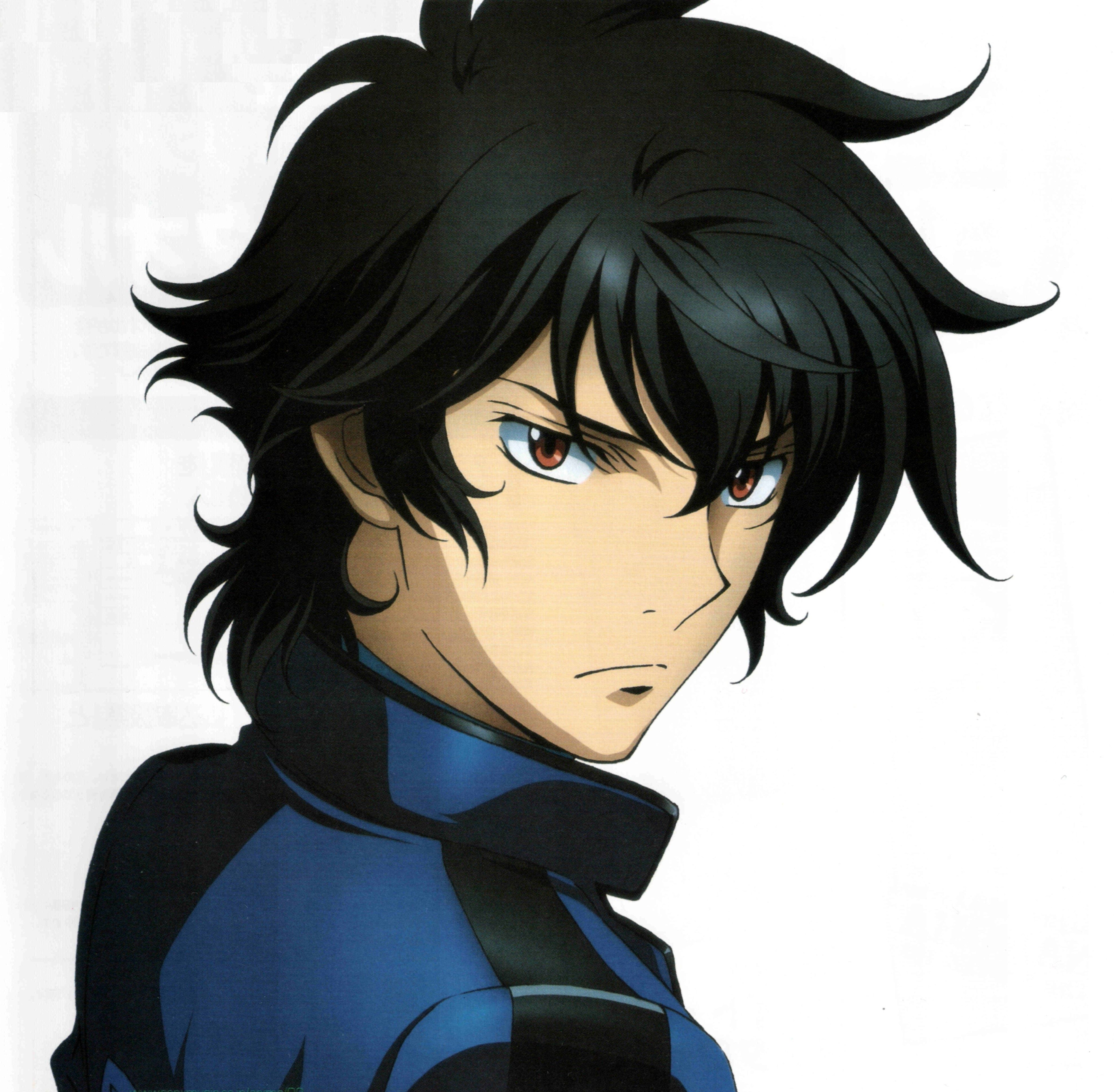 Setsuna F Seiei Soran Ibrahim From Mobile Suit Gundam 00 Gundam 00 Mobile Suit Gundam 00 Gundam