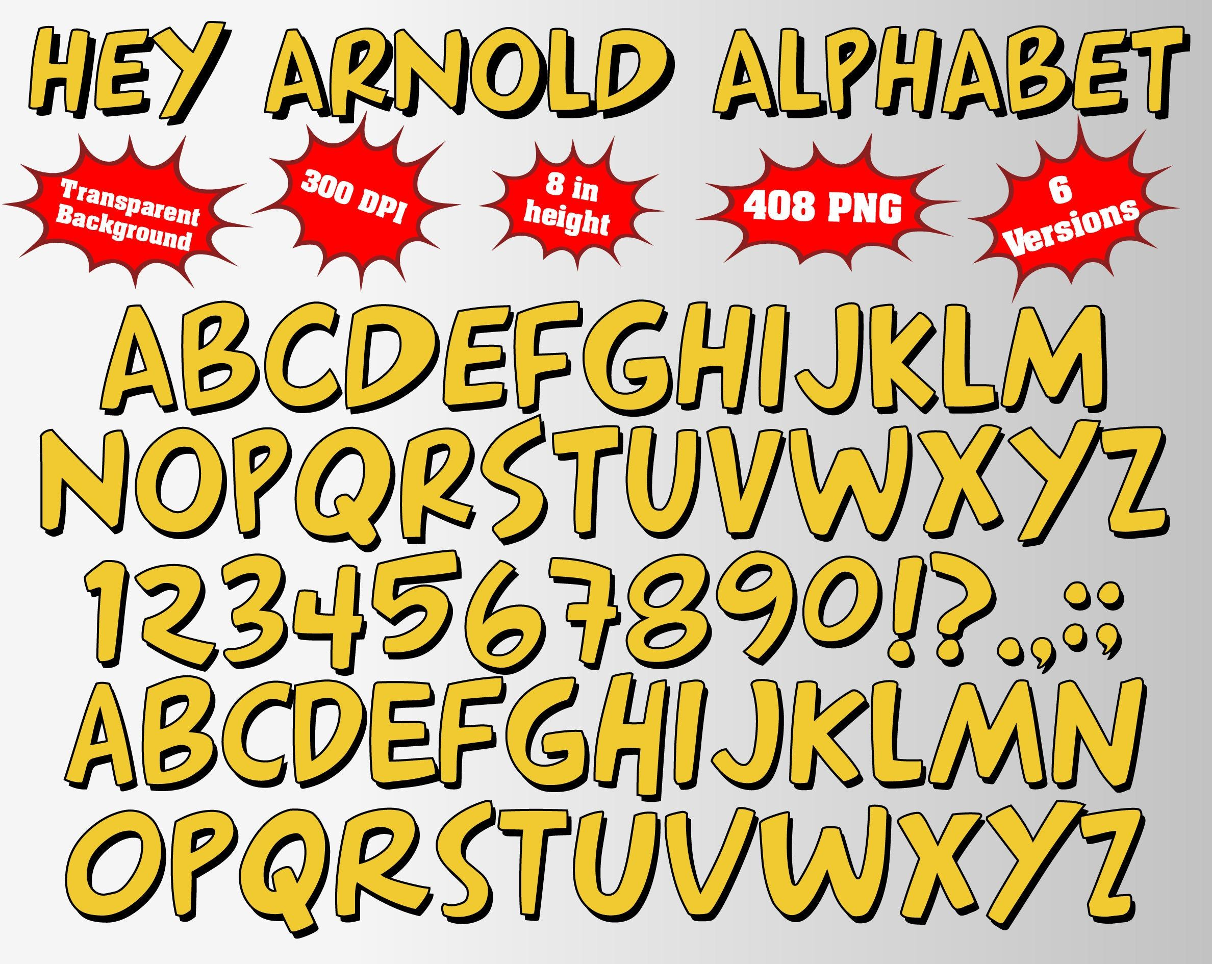 Pin By Yolanda Perez On Oye Arnold Hey Arnold Hey Arnold Characters Alphabet And Numbers