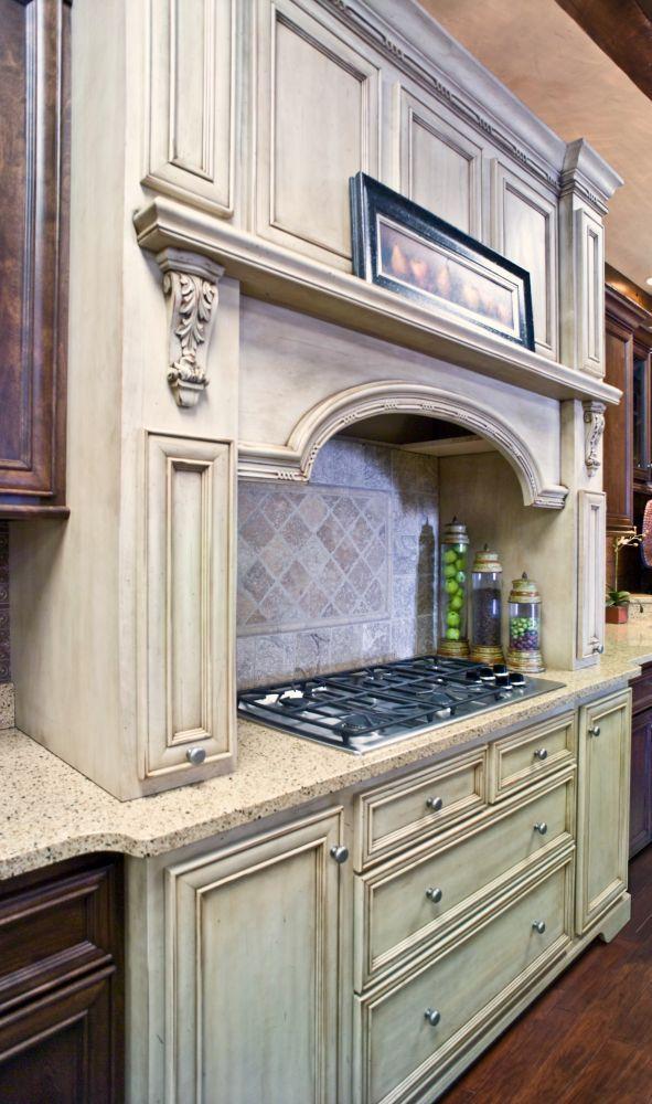 Kitchen Cabinet Tile Design