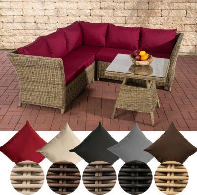 Garten Lounge Gruppe SANTA LUCIA, 5 Mm RUND Geflecht, 2x Sofa, 1x Ecksofa +  Tisch 70 X 70 Cm Jetzt Bestellen Unter: ...