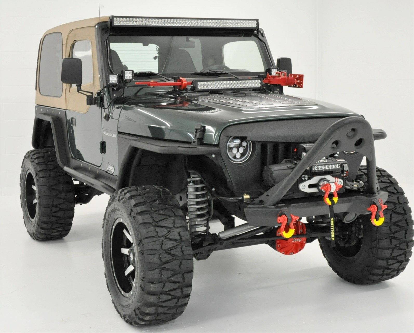 1999 Jeep Tj Wrangler Built By 7slotoffroad Com Custom Built Jeeps
