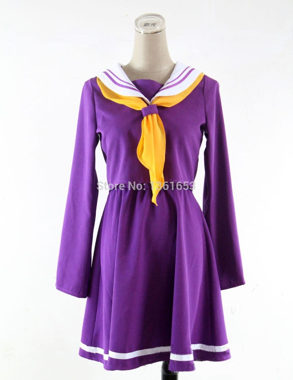 NO GAME NO LIFE Anime cosplay costume dress hallowean cosplay ...