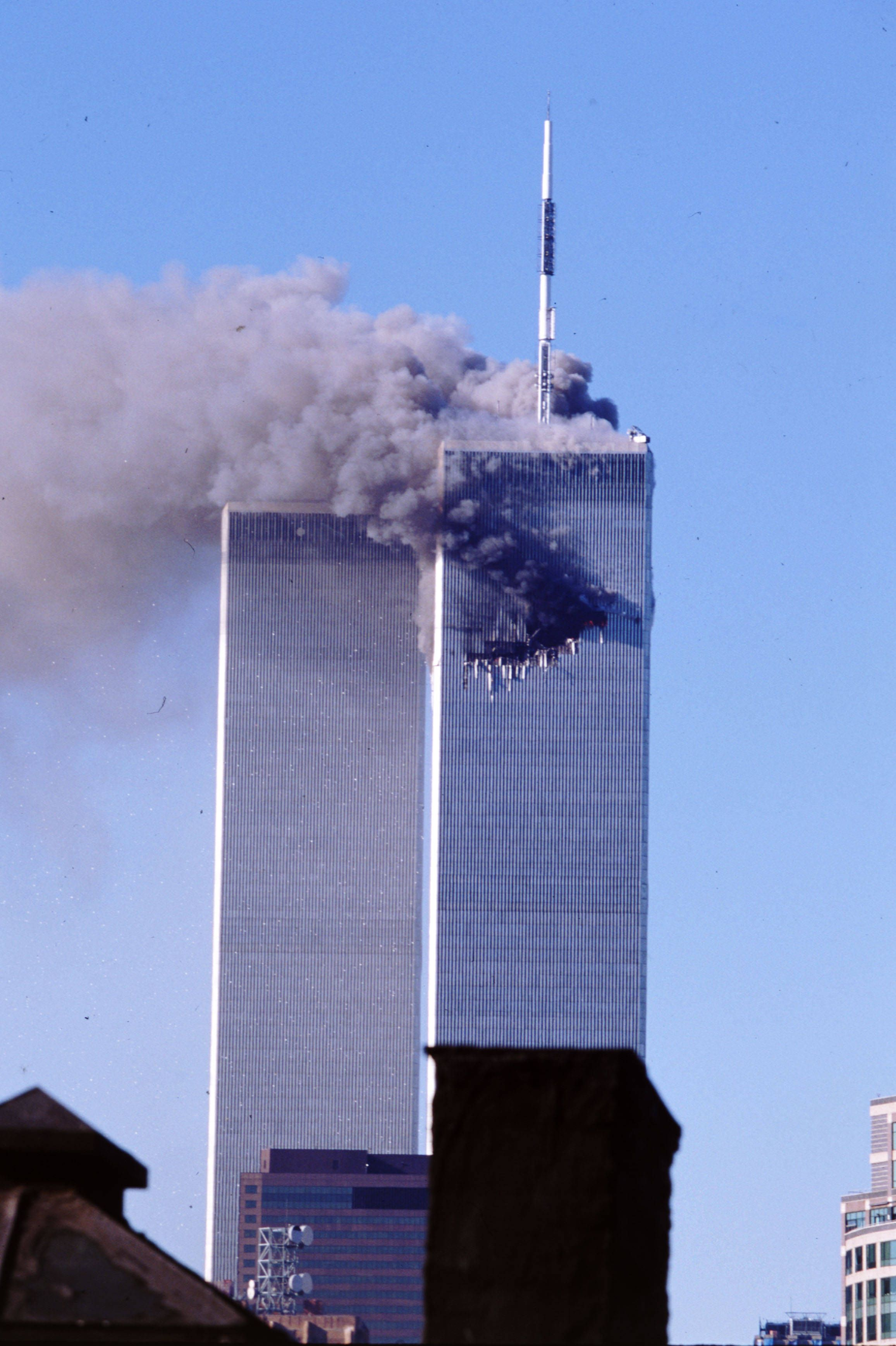 Stairway B Wtc North Tower : World trade center north tower hit and we should rid of