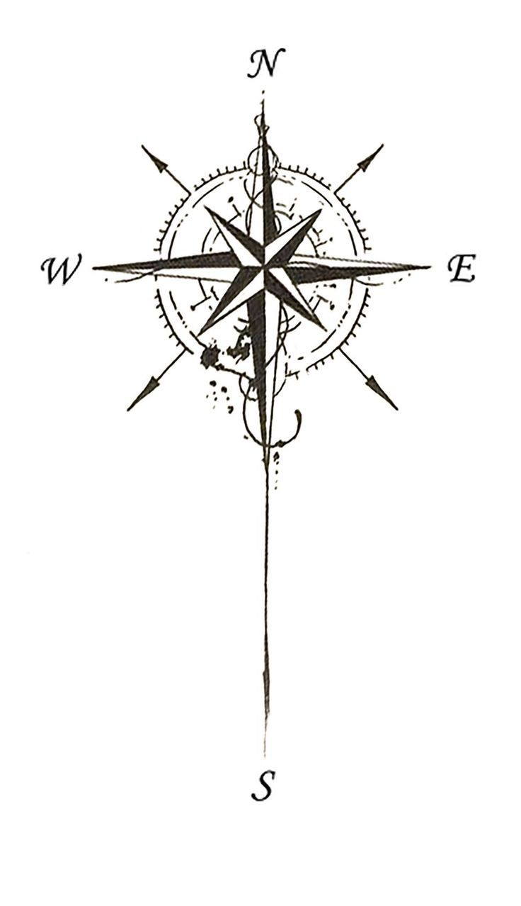 Best 25+ Compass tattoo design ideas on Pinterest | Compass tattoo ...