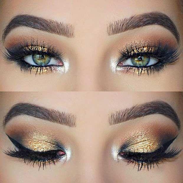 31 Pretty Eye Makeup Looks For Green Eyes Hj Pinterest Makeup