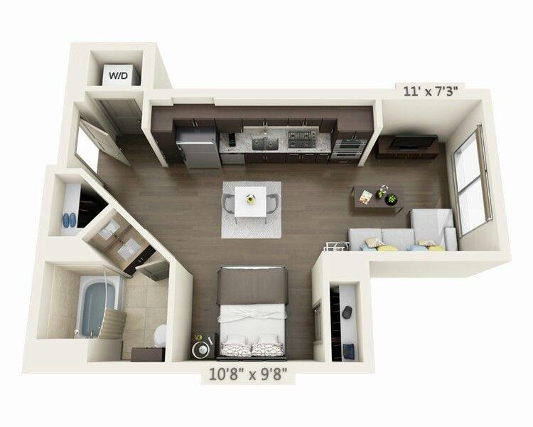 Pin By Ka Yan Kwok On House Studio Apartment Floor Plans Apartment Layout Apartment Floor Plans