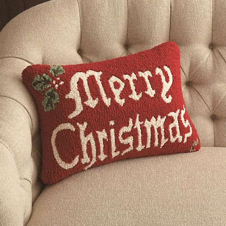 Merry Christmas Pillow Gump s Holiday Ideas