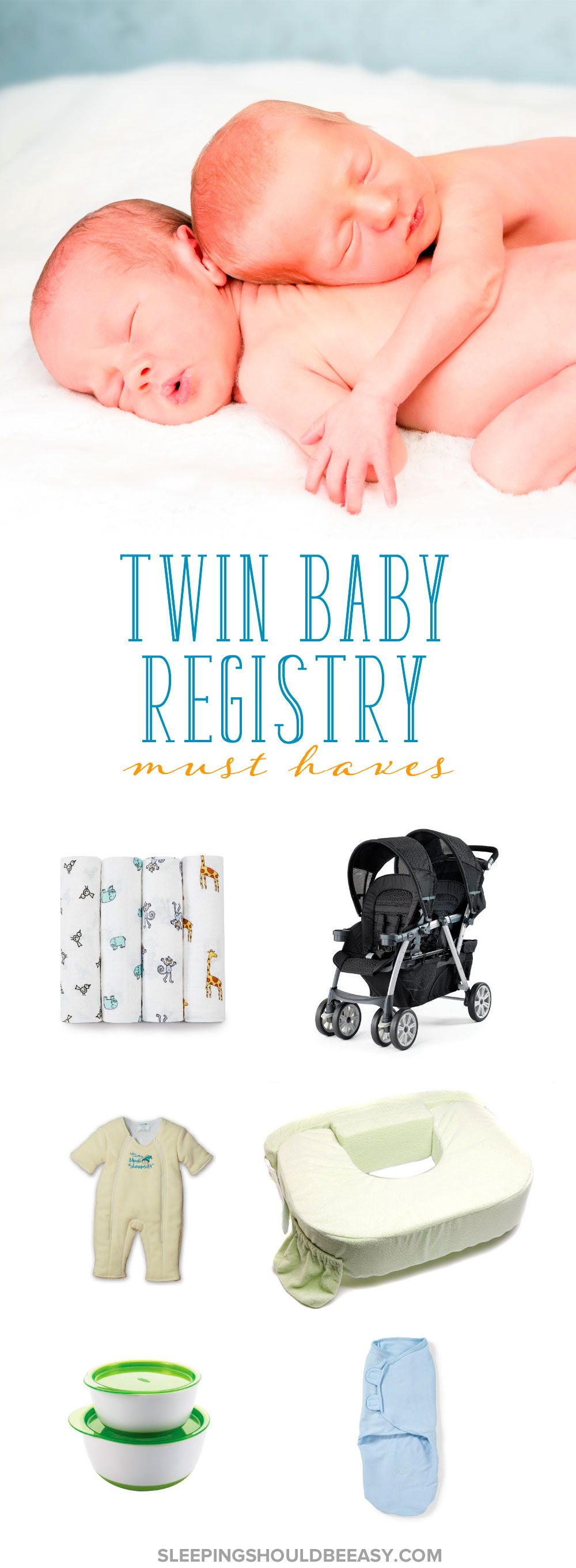 Twin Must Haves The Ultimate Guide For Newborn Twins  Baby