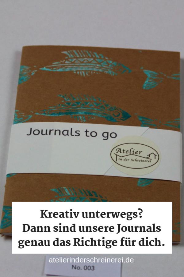 Journals to go - für Gedanken, Skizzen, Gedichte, Ideen und Erinnerungen. Unsere Journals sind 14,5 x 10 cm groß und 100% handgefertigt. #journaling #artjournal #book #geschenk #skizzenbuch #inspiration