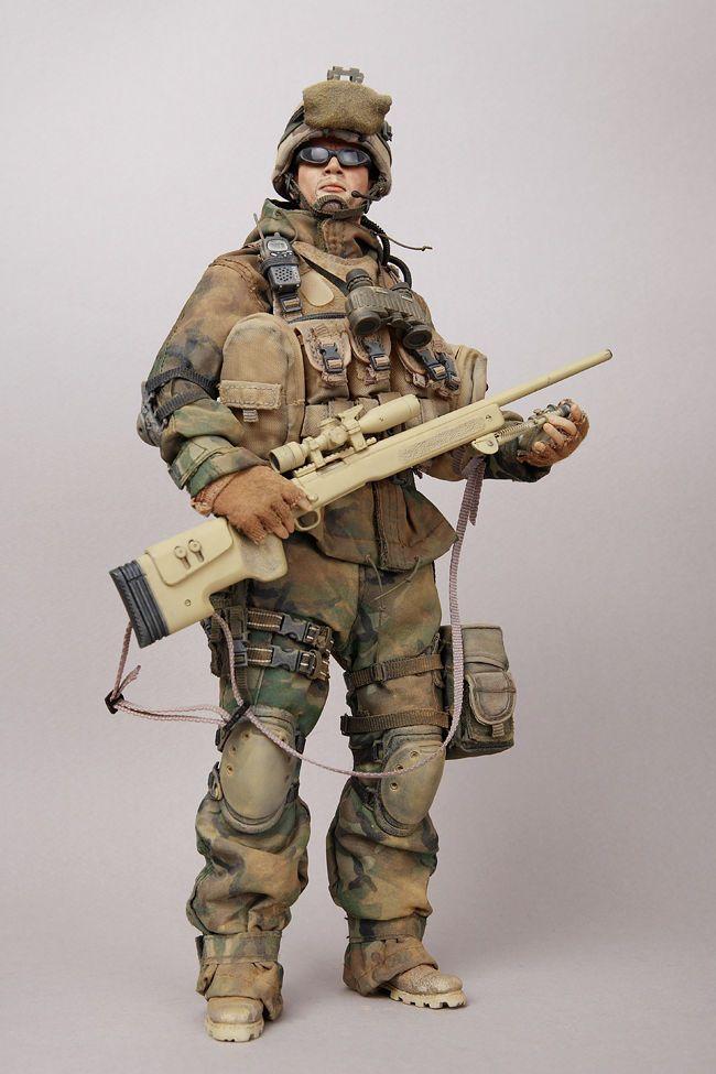 American Sniper Toys : Hot toys usmc sniper rd marine regiment custom