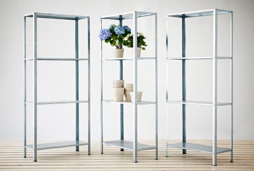 IKEA Indoor Book, Yarn And Fabric Shelving