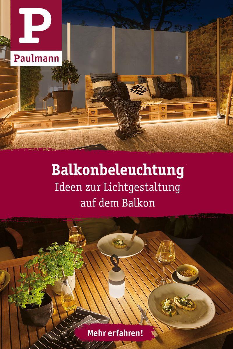 Balkonbeleuchtung: Ideen & Tipps