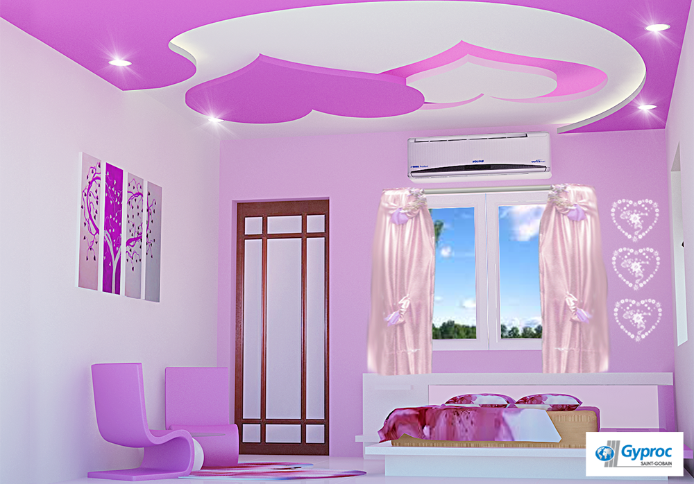 Ceilings that make you feel good! To know more: www.gyproc ...