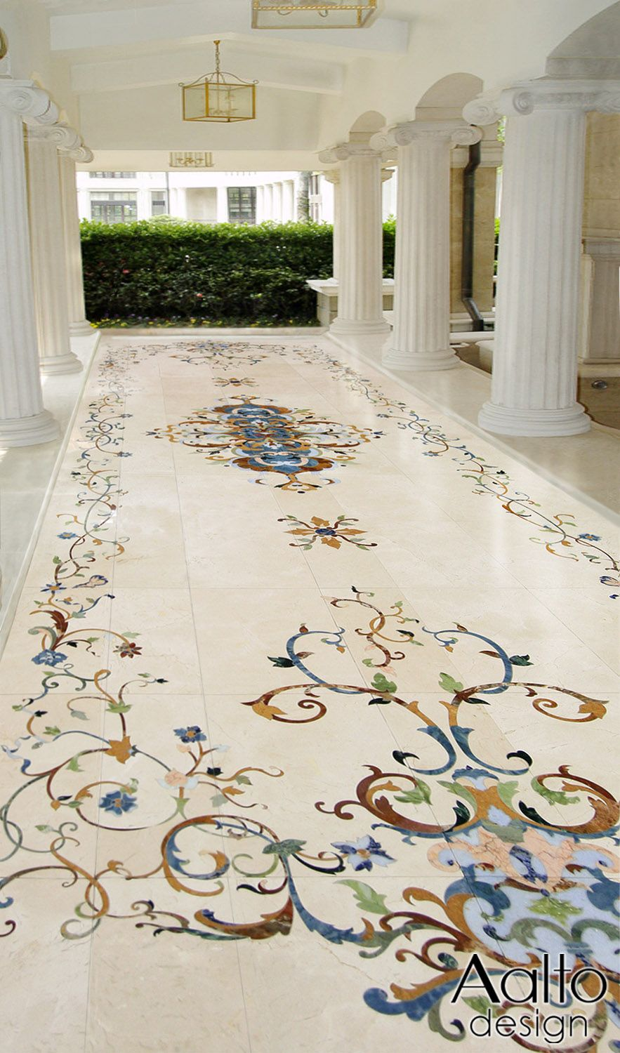 many people donu0027t realize that marble can be used in many outdoor situations