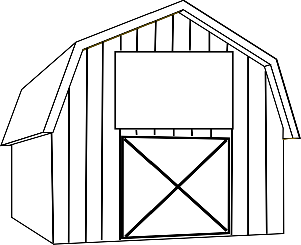 free barn clip art black and white - Yahoo Image Search Results ...