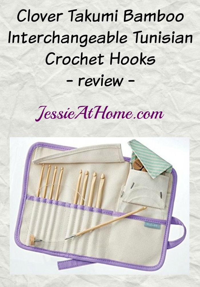 Clover Takumi Interchangeable Crochet Hooks review from Jessie At Home