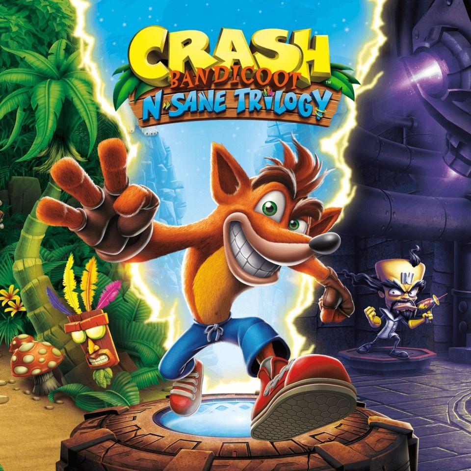 Crash Bandicoot N Sane Trilogy Crash Bandicoot Bandicoot Crash