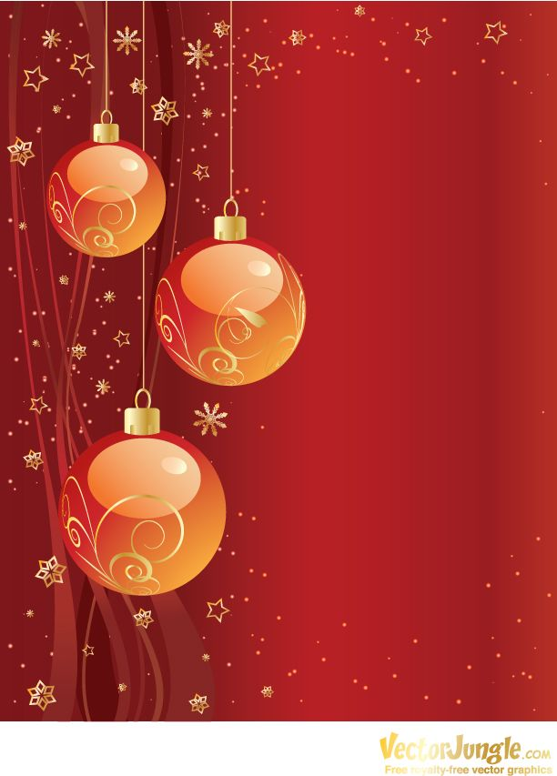 Image detail for - Christmas illustrations, Christmas vector - free invitation backgrounds