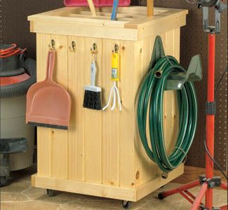 Garden Tool Caddy Wood Project Plan Now You Can Store All Your Garden Tools Everything From S Woodworking Plans Garden Wood Projects Plans Garden Tool Storage