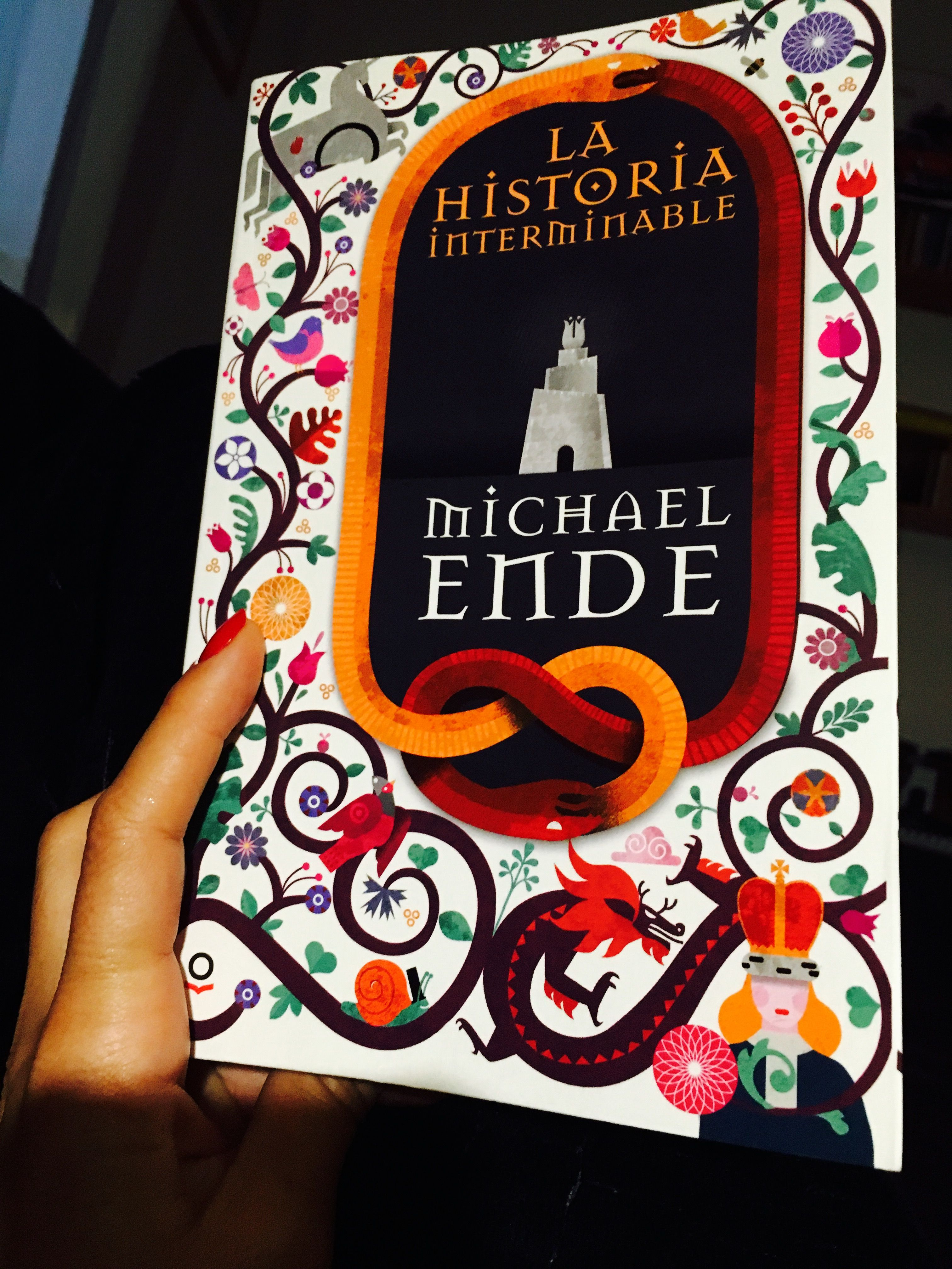 Releyendo El Libro Que Marcó Mi Infancia La Historia Interminable De Michael Ende 30 Años Después Me Sig Portadas De Libros La Historia Interminable Libros