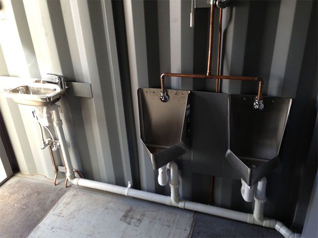 Portable Bathrooms, Mobile Toilets U0026 Ablution Units Available In U0026  Modifications From Gateway Container Sales U0026 Hire.