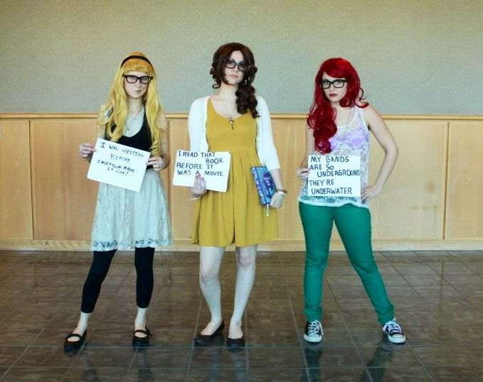 halloween ideas hipster disney princesses cosplay - Hipster Halloween Ideas
