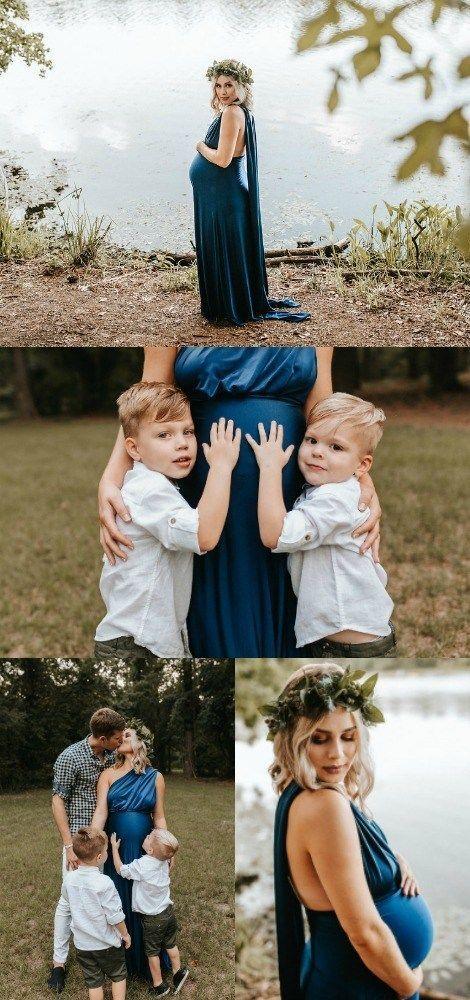Mutterschaft Foto Ideen mit der Familie # Familie # Ideen # Mutterschaft Foto   – Babybauchshooting