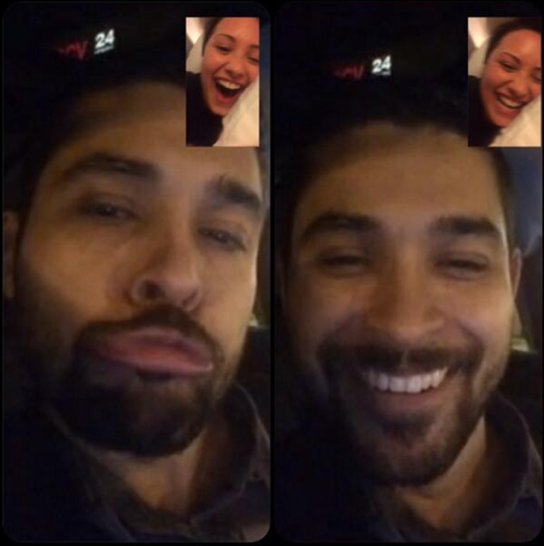 Demi Lovato and Wilmer Valderrama Have Facetime Laugh While She Tours | Cambio