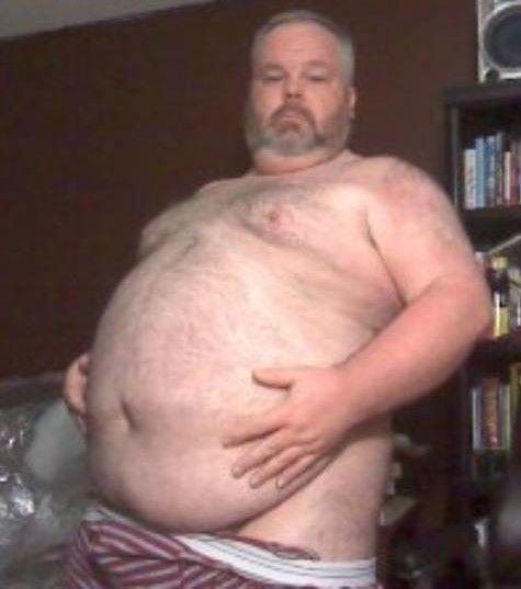 Fat gay dude