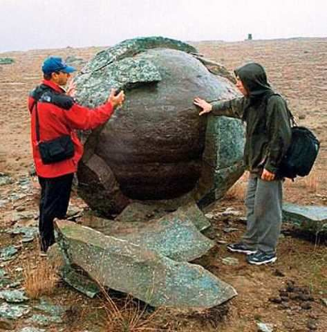 Turish Stone Spheres ,Kazakhstan,West Asia  Megaliths and the True Ancient History of Earth and the Inhabiting Races