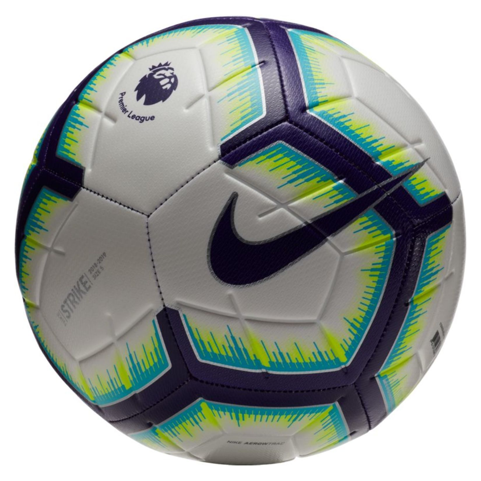 The Premier League Strike Football Is Ready For Everyday Play With Its 12 Panel Design And Visual Power Graphic For B Nike Soccer Ball Soccer Ball Soccer Balls