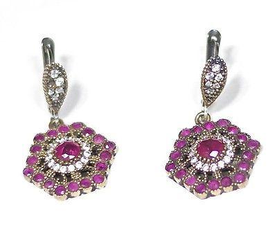 Necklaces and Pendants 98481: Granada Moorish Earrings -> BUY IT NOW ONLY: $149 on eBay!