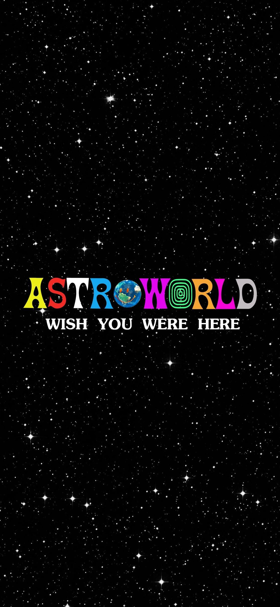 Travis Scott  La Flame  ASTROWORLD  Wish You Were Here  | wallpapers