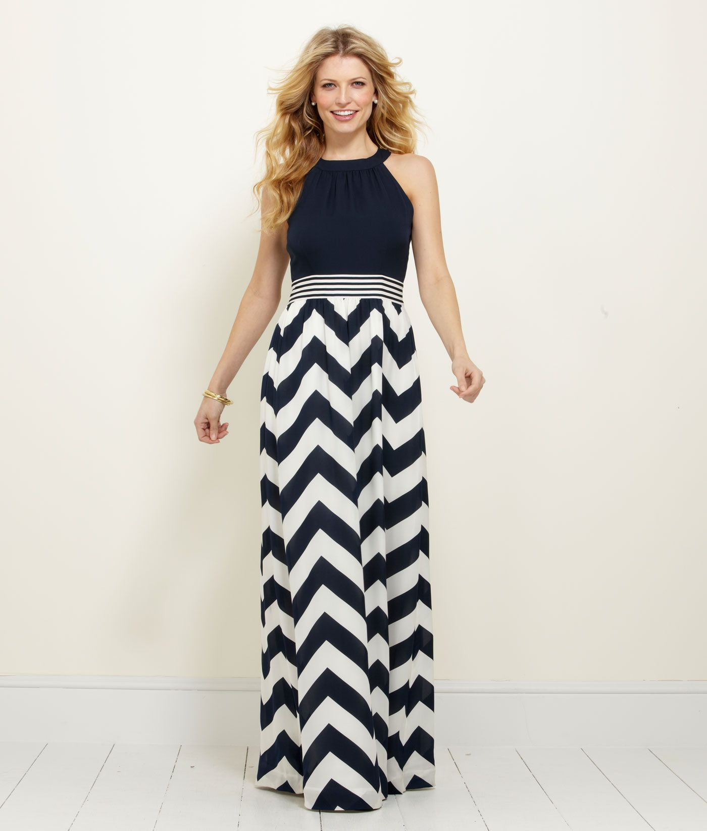 Womenus dresses chevron maxi dress u vineyard vines my style