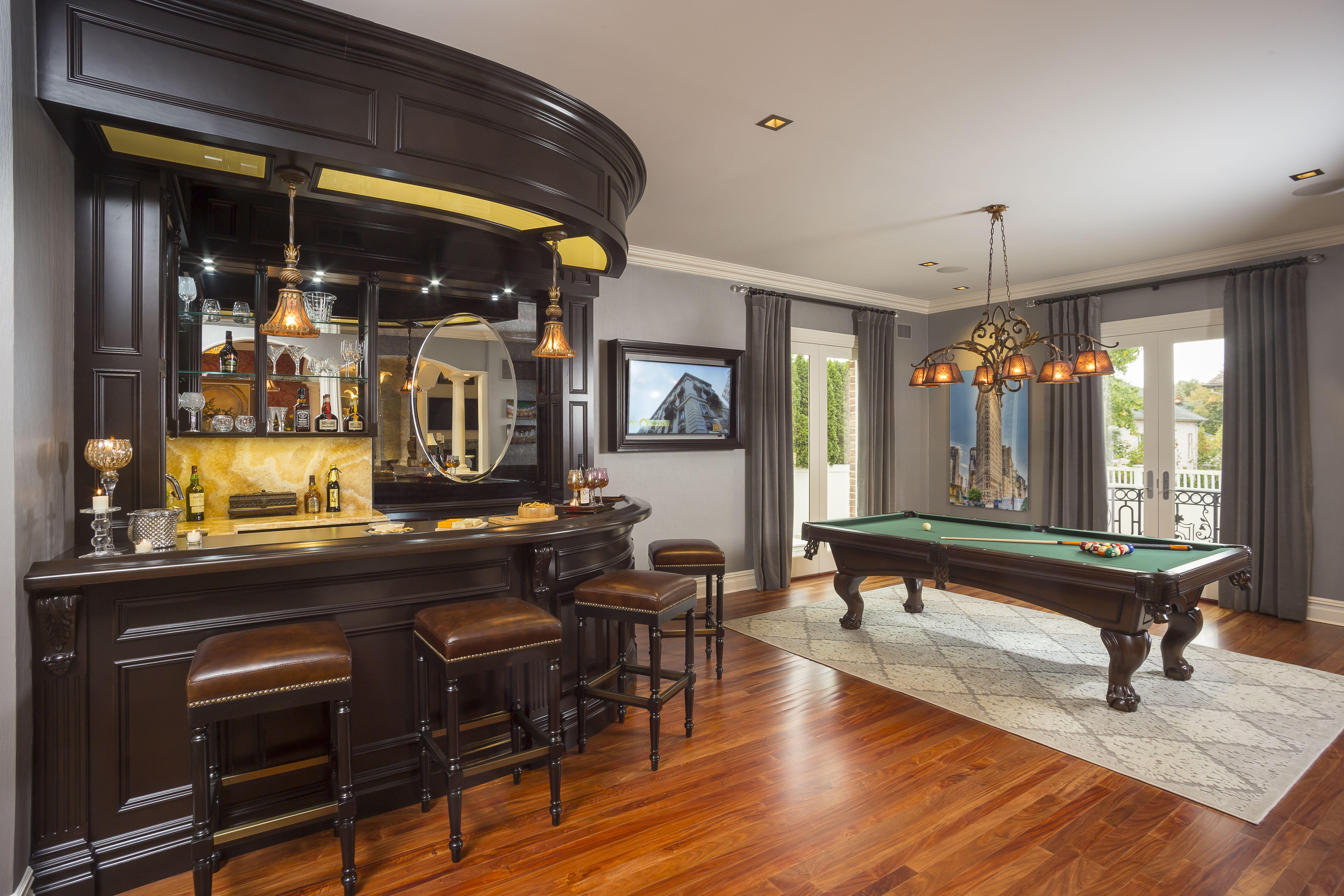 billiard room design - Google Search