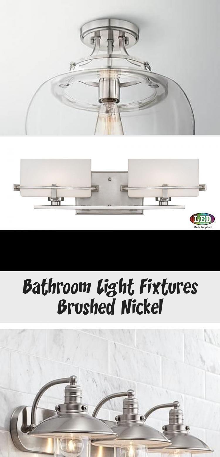 Photo of Bathroom lights brushed nickel – home decoration, bathroom lights …