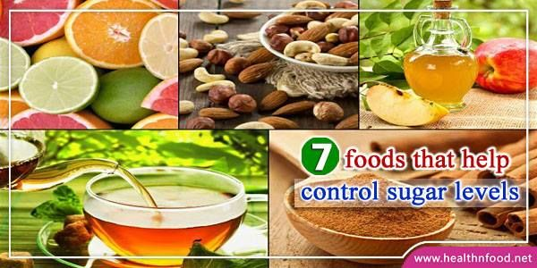 Diabetic Diet: 7 Foods That Help Control Sugar Levels