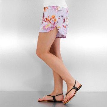 Vero Moda Pantalón cortos púrpura