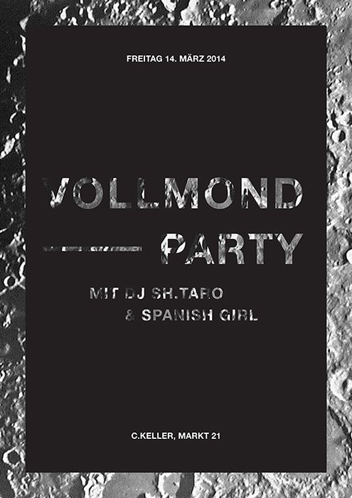 Vollmond Party Poster — isacasi http://isacasi.is-great.net/