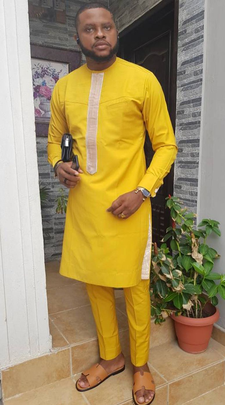 Pin by damien dab on African Fashion For Men | African dresses men, African men fashion ...