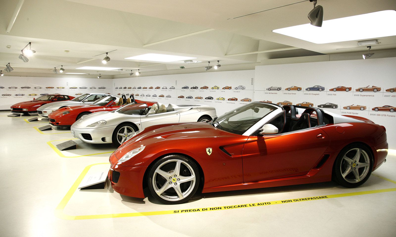 This past weekend one of the greatest collections of Ferraris, including both concept cars and production models, went on show at the official Ferrari Museum in Maranello, Italy. The cars are being shown in the Greatest Ferraris Of Sergio Pininfarina exhibition, which honors the legendary designer...