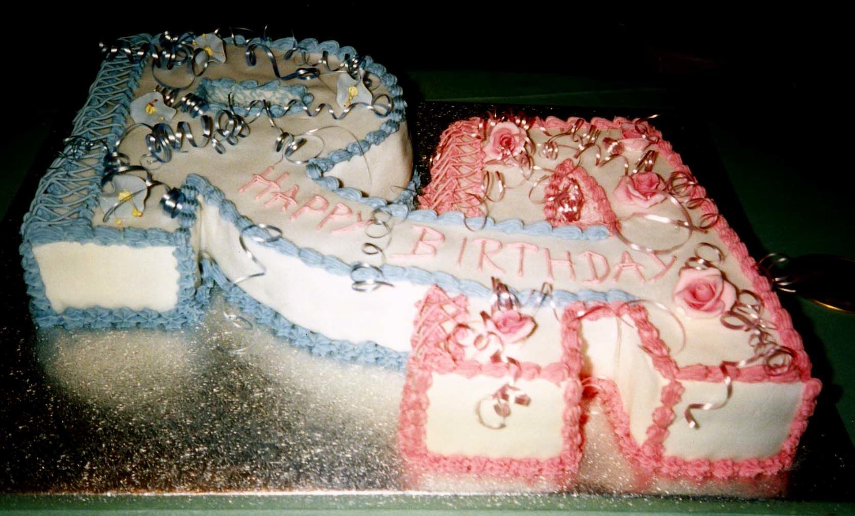 S Alphabet Cake Images : Twins Alphabet Letters R and A Birthday Cake My Novelty ...